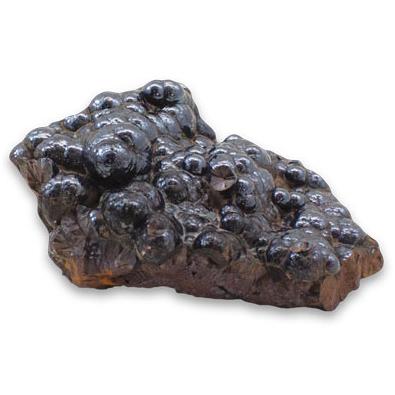 Silver Streak: Botryoidal Hematite Mineral Specimen