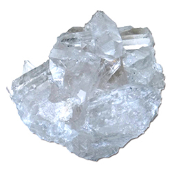 Silver Streak: Quartz Crystal Cluster Mineral SpecimenQuartz Crystal Specimen