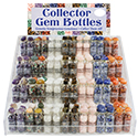 Gemstone Collector Bottles Acrylic Display Package