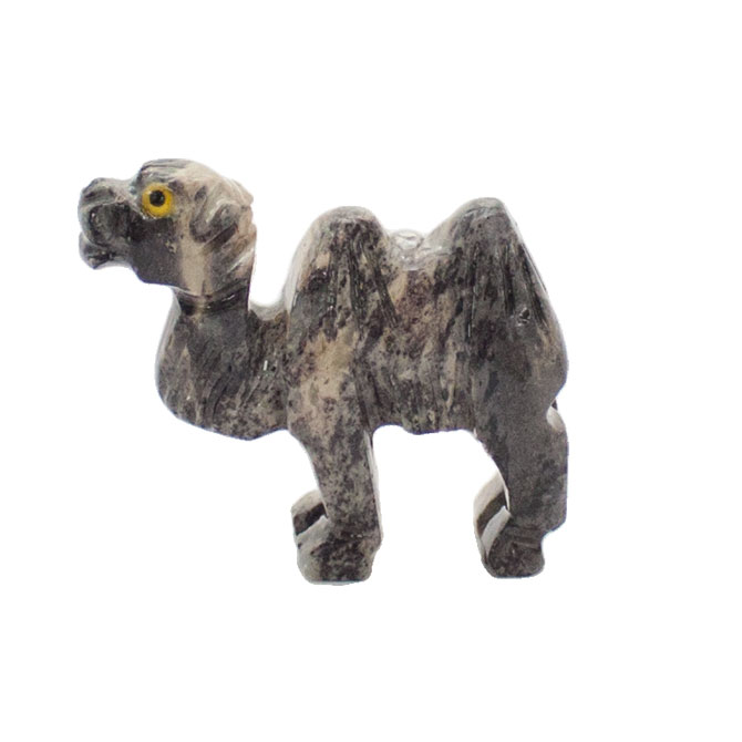 Stone carving hump camel