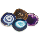 Agate Coaster - Assorted Colors