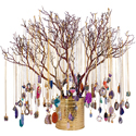 Crystal Jewelry Assortment - Without Manzanita Tree Display