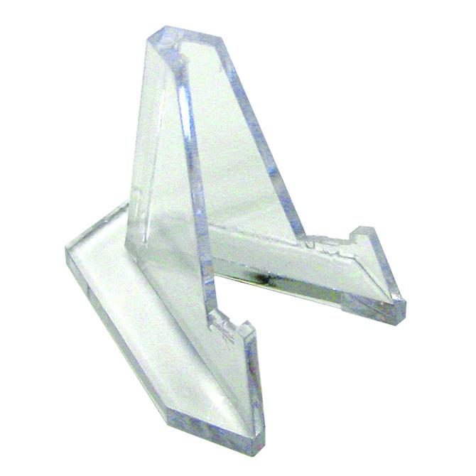 Silver Streak Plastic Agate Slice Stand Small
