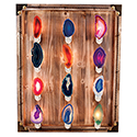 Agate Night Light Display Package