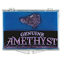 Amethyst Druzy Educational Box