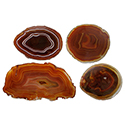 #6 Agate Thin Slice - Red