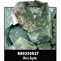 Rough Stone - Moss Agate 34PPP