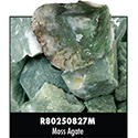 Rough Stone - Moss Agate 16PPP