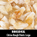 Citrine Rough Points 6PPP